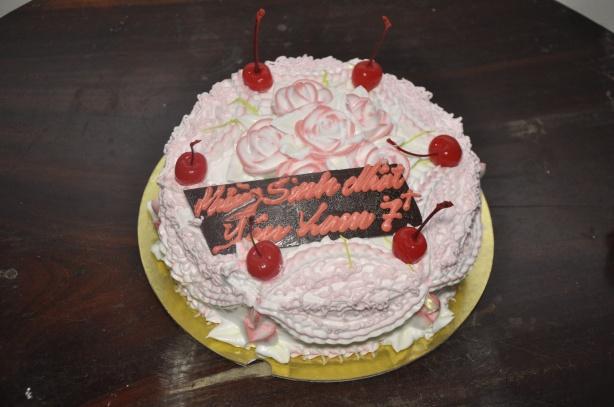 Bánh sinh nhật Yên Lam
