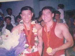 Trang, Ánh cùng nhận huy chương vàng